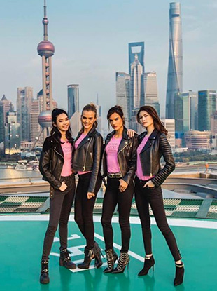 The 2017 Victoria's Secret Fashion Show will take place in Shanghai.