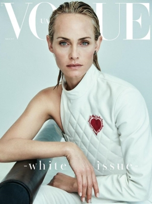 Vogue Ukraine April 2017 : Amber Valletta by Chris Colls