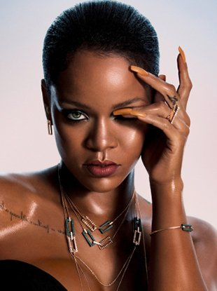 Rihanna for Chopard