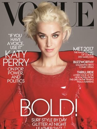 US Vogue May 2017 : Katy Perry by Mert Alas & Marcus Piggott