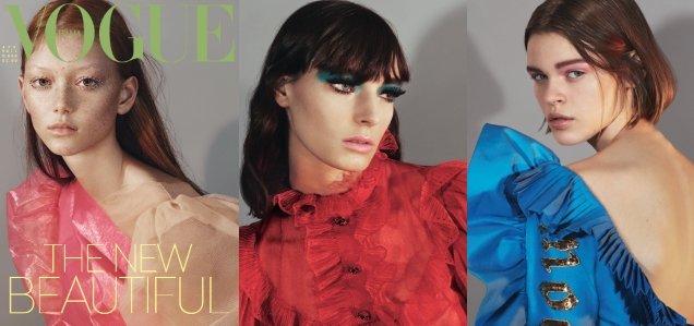 Vogue Italia April 2017 : Sara Grace Wallerstedt by Mert Alas & Marcus Piggott