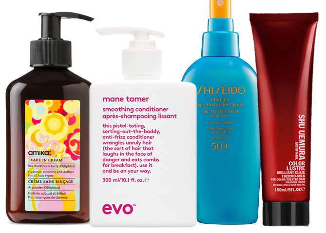 Summer hair care products