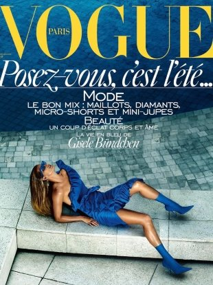Vogue Paris June/July 2017 : Gisele Bündchen by Mario Testino