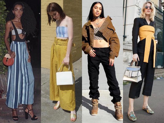 street style stars show how to wear a tube top and bandeau