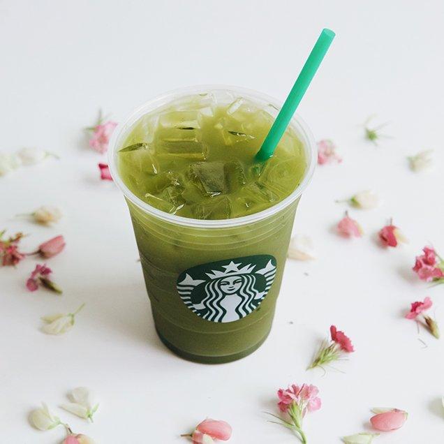 Starbucks' Matcha Lemonade; Image: Starbucks