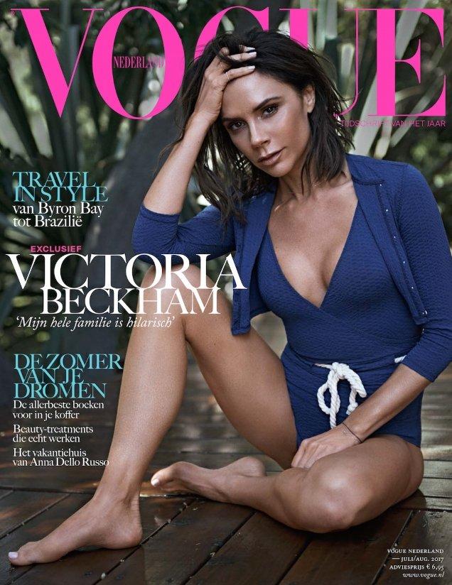 Vogue Netherlands July/August 2017 : Victoria Beckham by Jan Welters