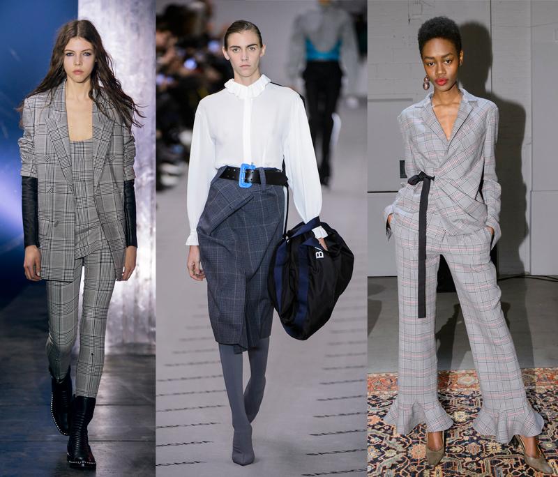 Alexander Wang, Balenciaga, Rosie Assoulin Fall 2017 Runways;
