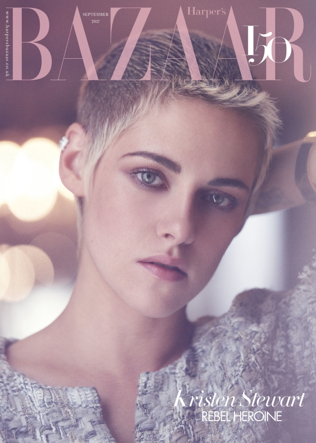 UK Harper's Bazaar September 2017 : Kristen Stewart by Tom Craig