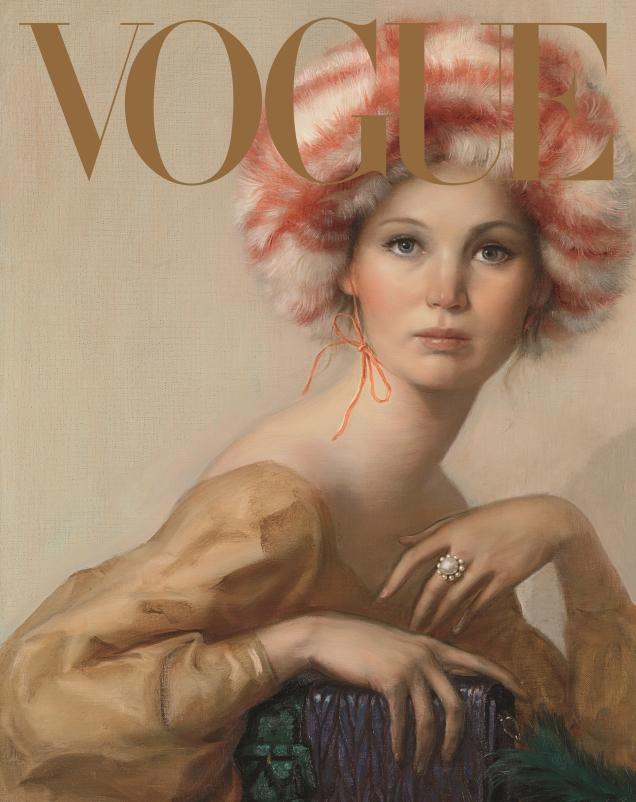 US Vogue September 2017 : Jennifer Lawrence