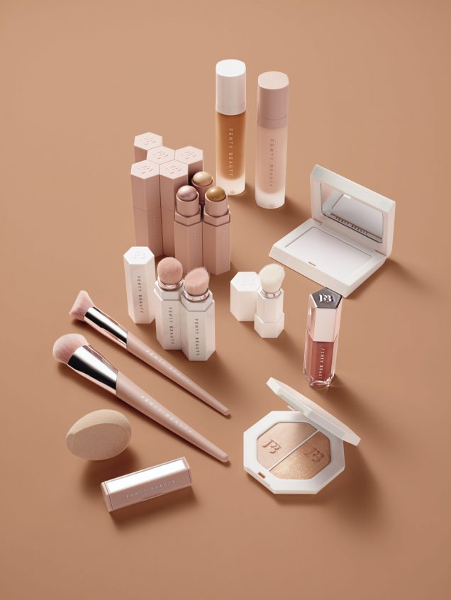 Fenty Beauty by Rihanna makeup packaging