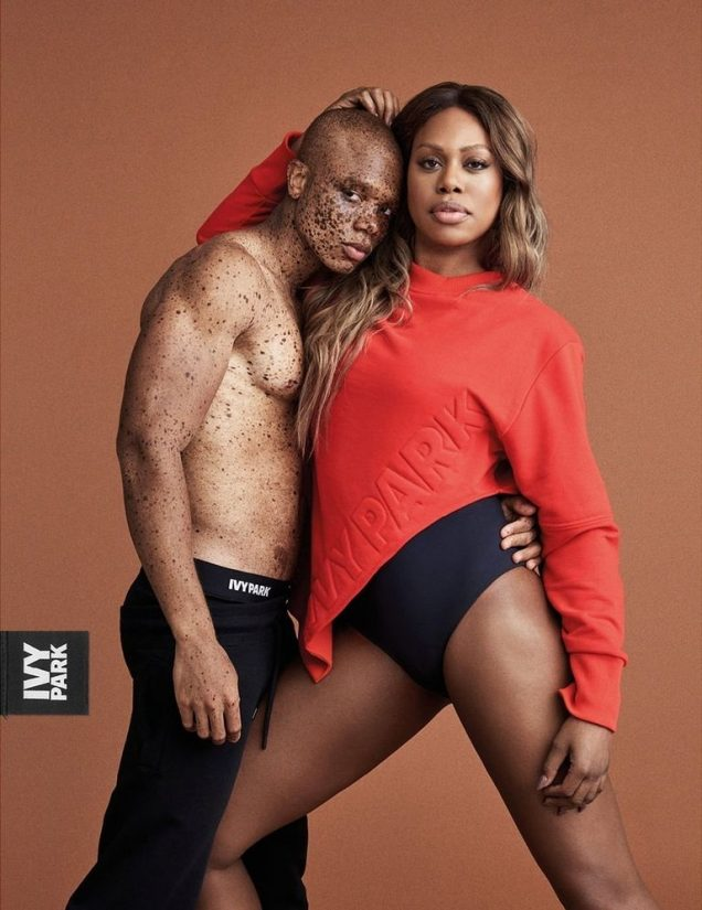 Laverne Cox and Souffrant for Ivy Park Fall 2017