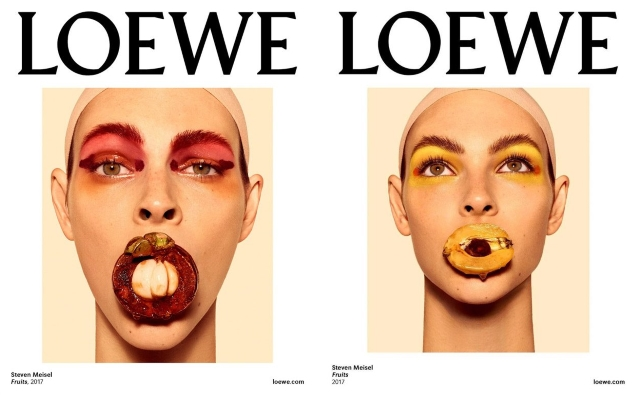 Loewe S/S 2018 : Vittoria Ceretti by Steven Meisel