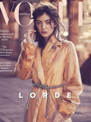 Vogue Australia October 2017 : Lorde by Nicole Bentley