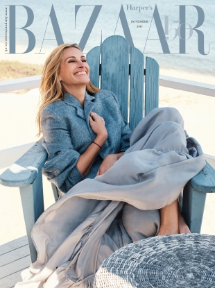 UK Harper's Bazaar November 2017 : Julia Roberts by Alexi Lubomirski