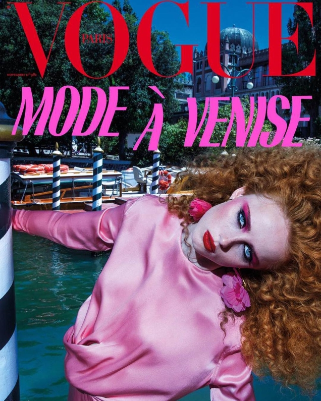 Vogue Paris November 2017 : Rianne van Rompaey by Inez & Vinoodh