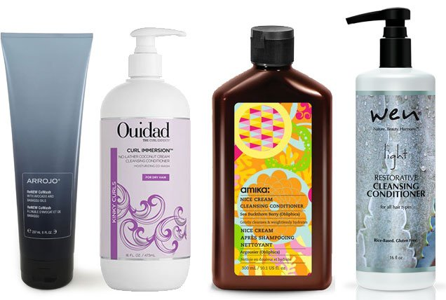 cleansing conditioners for co-washing hair