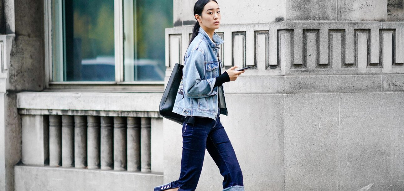 46ff58dae3 Double Denim  How to Wear Jean-on-Jean Outfits in 2017 - theFashionSpot