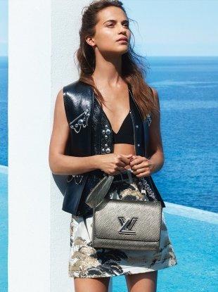Louis Vuitton 'Spirit of Travel' S/S 2018 : Alicia Vikander by Patrick Demarchelier