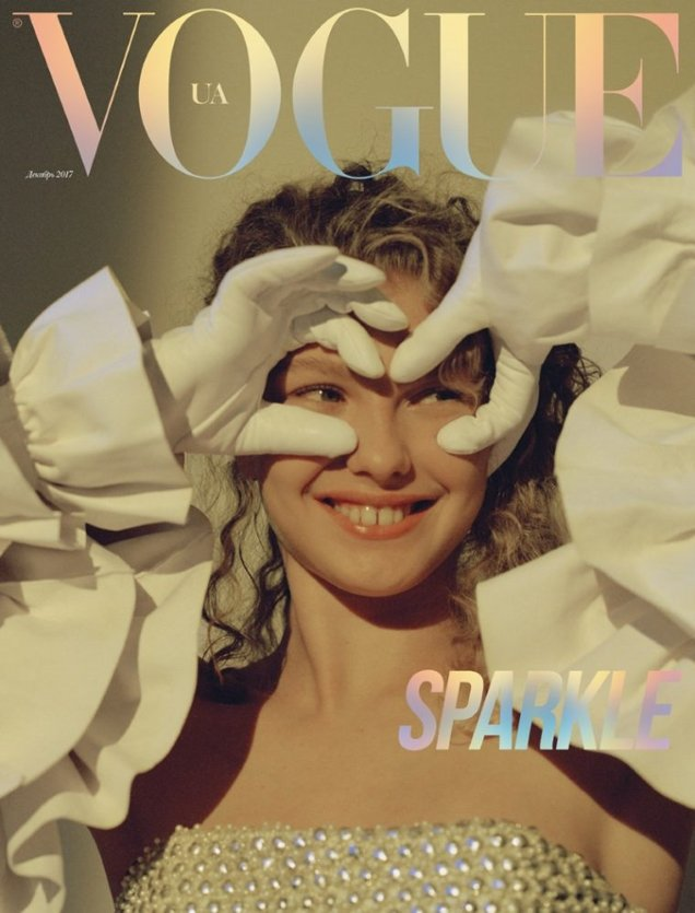 Vogue Ukraine December 2017 : Dorit Revelis by Jens Ingvarsson