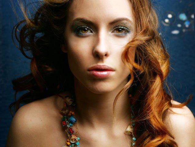woman under water, mermaid