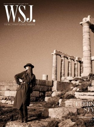 WSJ December 2017/January 2018 : Rianne van Rompaey by Inez & Vinoodh