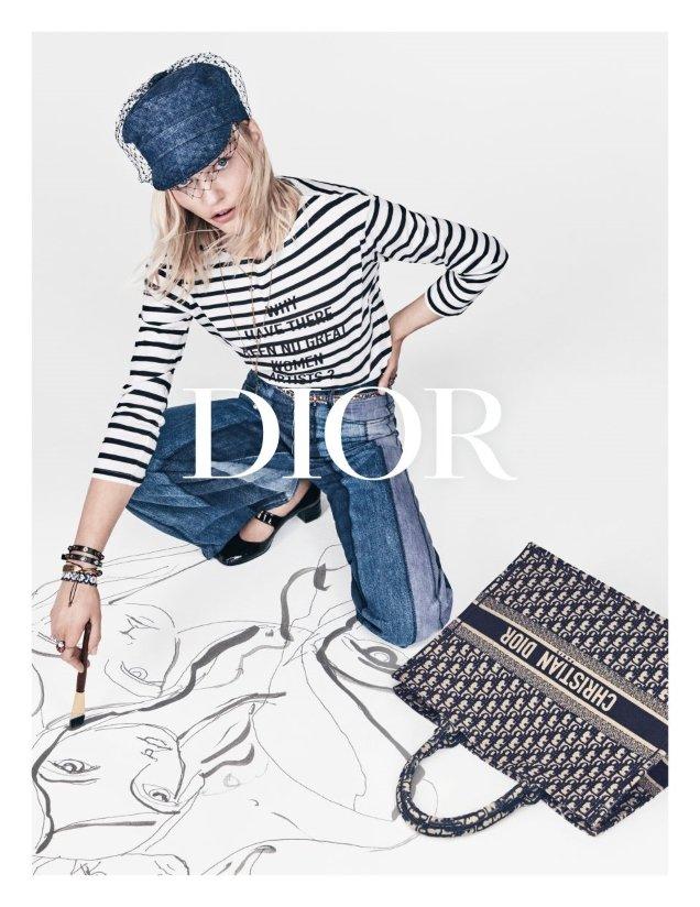 Christian Dior S/S 2018 : Sasha Pivovarova by Patrick Demarchelier