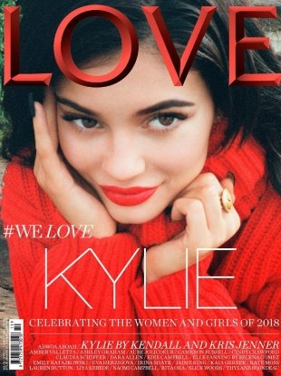 Love #19 S/S 2018 : Kylie Jenner by Kendall Jenner