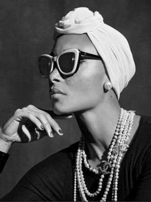 Chanel Eyewear S/S 2018 : Adwoa Aboah by Karl Lagerfeld