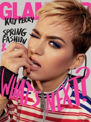 US Glamour March 2018 : Katy Perry by Emma Summerton