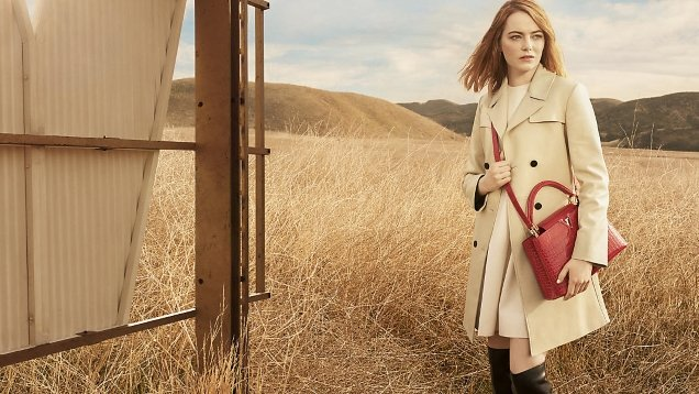 Louis Vuitton 'Spirit of Travel' 2018 : Emma Stone by Craig McDean