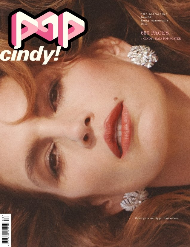 POP #38 S/S 2018 : Cindy Crawford by Charlotte Wales