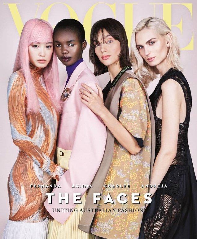 Vogue Australia April 2018 by Patrick Demarchelier