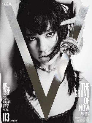V Magazine #113 Summer 2018 : Dua Lipa & SZA by Inez & Vinoodh