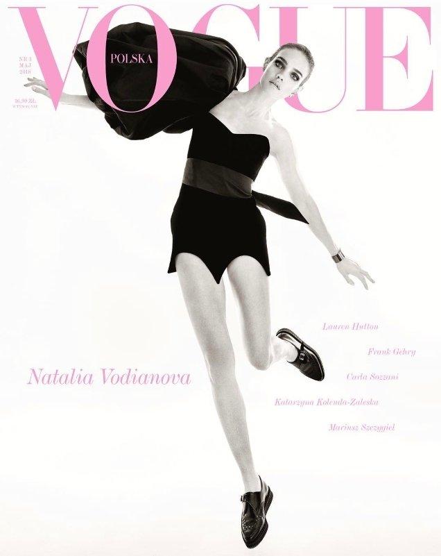 Vogue Poland May 2018 : Natalia Vodianova by Christian Macdonald