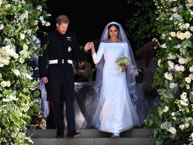 Prince Harry and Meghan Markle get married in style.