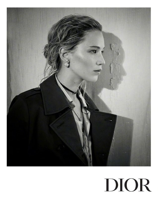 Christian Dior Pre-Fall 2018 : Jennifer Lawrence by Brigitte Lacombe