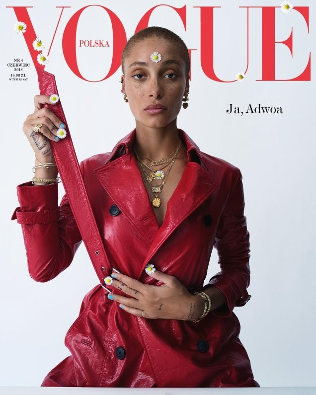 Vogue Poland June 2018 : Adwoa Aboah by Tim Walker