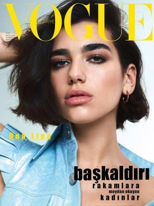 Vogue Turkey May 2018 : Dua Lipa by Benjamin Lennox
