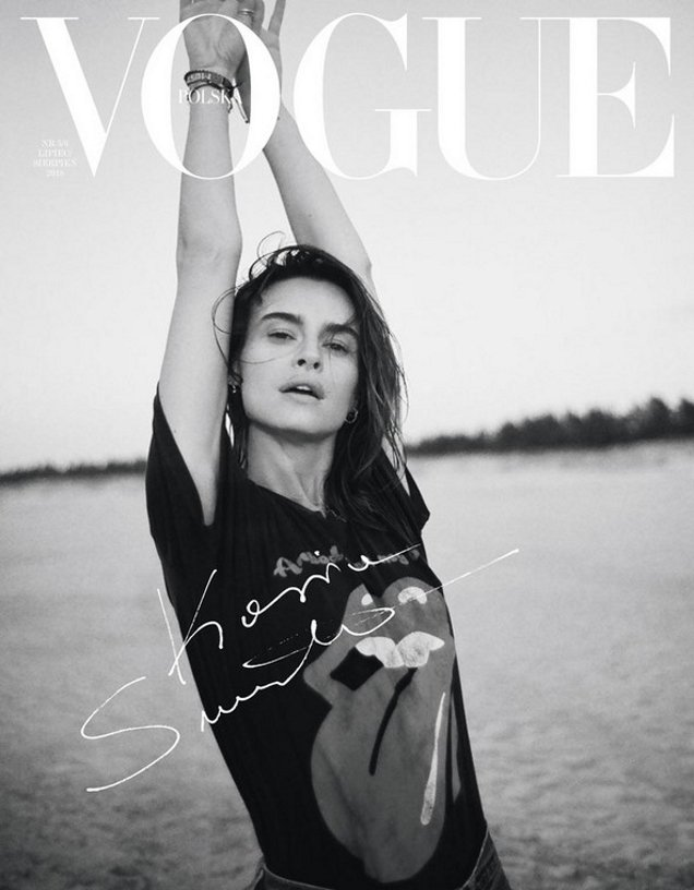 Vogue Poland July/August 2018 : Kasia Smutniak by Stanislaw Boniecki