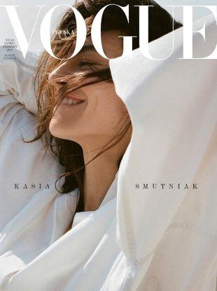 Vogue Poland July/August 2018 : Kasia Smutniak by Stanislaw Boniecki