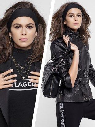Karl Lagerfeld F/W 2018.19 : Kaia Gerber by Karl Lagerfeld