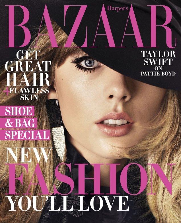US Harper's Bazaar August 2018 : Taylor Swift by Alexi Lubomirski