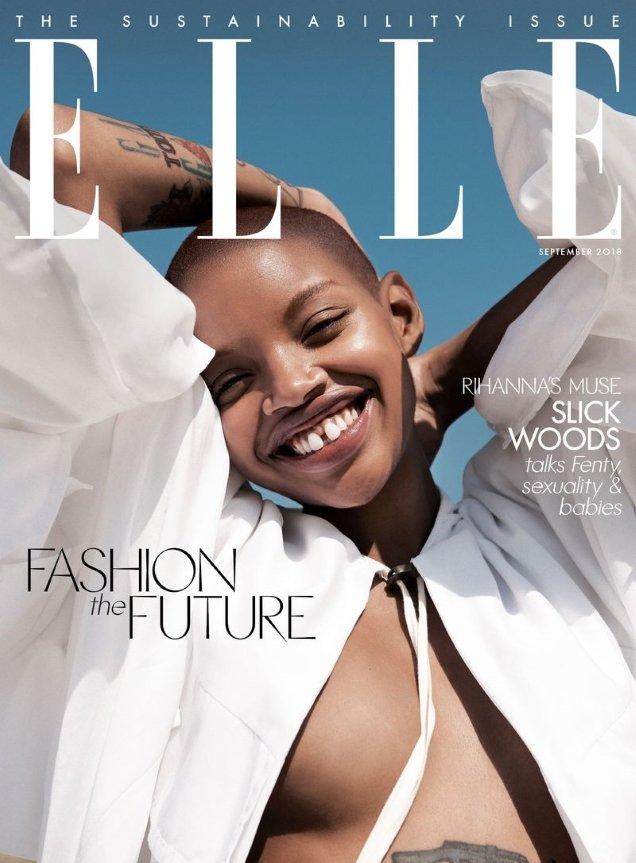 UK Elle September 2018 : Slick Woods by Paola Kudacki
