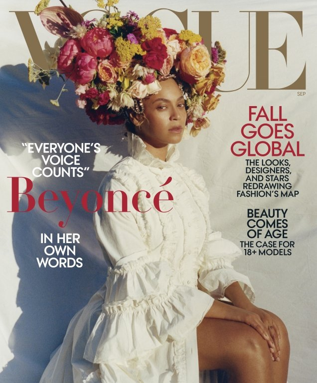 US Vogue September 2018 : Beyoncé by Tyler Mitchell