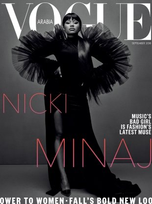 Vogue Arabia September 2018 : Nicki Minaj by Emma Summerton