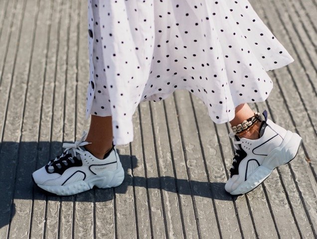 14 Sneakers Celebrities Love to Wear on the Go | Travel +