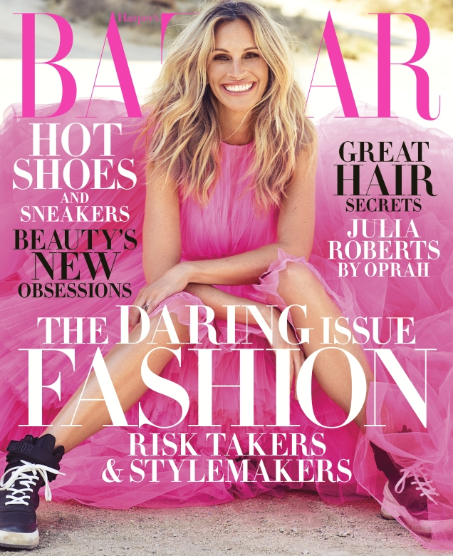 US Harper's Bazaar November 2018 : Julia Roberts by Alexi Lubomirski