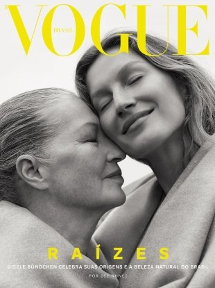 Vogue Brazil October 2018 : Gisele Bündchen by Zee Nunes