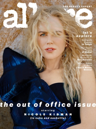 Allure December 2018/January 2019 : Nicole Kidman by Vicki King