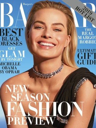 US Bazaar December 2018/January 2019 : Margot Robbie by Camilla Akrans